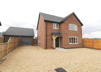 Thumbnail 4 bedroom detached house for sale in Ashwicken Road, Plot 4, Pott Row, King's Lynn