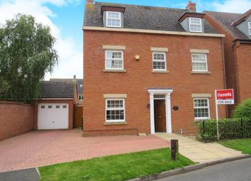 Thumbnail 4 bed detached house for sale in Thacker Drive, Lichfield