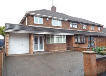 Thumbnail 3 bed semi-detached house for sale in Spring Lane, Willenhall, West Midlands