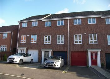 Thumbnail 4 bedroom town house for sale in Ashover Road, Kenton, Newcastle Upon Tyne