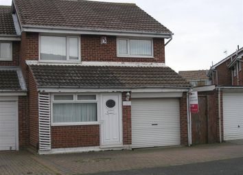 Thumbnail 3 bed link-detached house to rent in Amberwood Close, Hartlepool