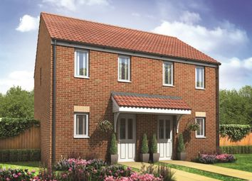 "Thumbnail 2 bed semi-detached house for sale in ""The Morden"" at Lyne Hill Lane, Penkridge, Stafford"