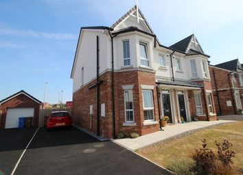 Thumbnail 3 bed semi-detached house for sale in Green Road, Bangor