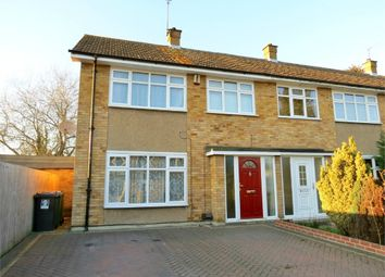 Thumbnail 3 bed end terrace house for sale in Leaford Crescent, Watford, Hertfordshire