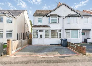 Thumbnail 3 bed semi-detached house for sale in Cateswell Road, Hall Green, Birmingham, West Midlands