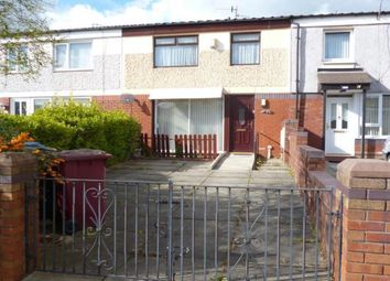 Thumbnail 3 bed terraced house to rent in Exeley, Whiston, Prescot