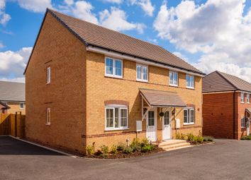 "Thumbnail 3 bedroom terraced house for sale in ""Finchley"" at Knights Way, St. Ives, Huntingdon"