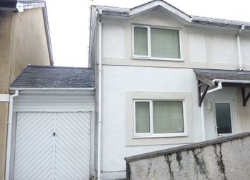 Thumbnail 2 bedroom semi-detached house for sale in Mount Street, Off The High Street, Bangor, Gwynedd.