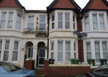 Thumbnail 5 bedroom terraced house to rent in Heathfield Road, Cardiff