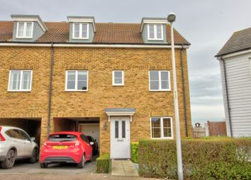 Thumbnail 5 bed town house for sale in Rivenhall Way, Hoo, Rochester