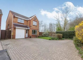 Thumbnail 4 bed detached house for sale in Clematis Drive, Pendeford, Wolverhampton
