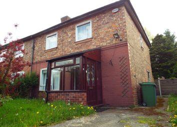 Thumbnail 3 bed semi-detached house to rent in Gorse Crescent, Stretford