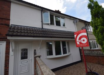 Thumbnail 3 bed terraced house for sale in Fowler Crescent, New Rossington, Doncaster
