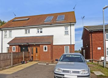 Thumbnail 2 bed semi-detached house for sale in Chilham Close, Sheerness, Kent