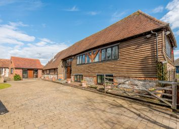 Thumbnail 7 bed barn conversion for sale in Crede Lane, Bosham