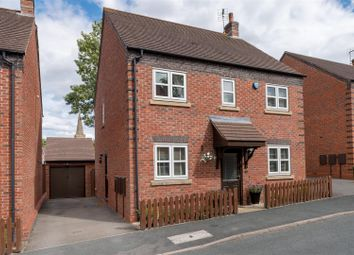 Thumbnail 4 bed detached house for sale in Crown Hill Close, Stoke Golding, Nuneaton