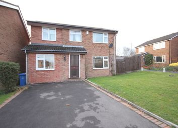 Thumbnail 4 bed detached house to rent in Stretton Close, Mickleover, Derby