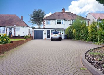 Thumbnail 3 bed semi-detached house for sale in Chester Road North, Sutton Coldfield