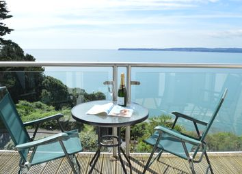Thumbnail 3 bedroom flat to rent in Ilsham Marine Drive, Torquay