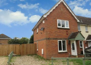 Thumbnail 2 bed end terrace house for sale in Kestrel Close, Beck Row, Bury St. Edmunds