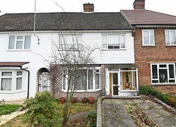 Thumbnail 3 bed terraced house for sale in Woodcote Avenue, Mill Hill, London