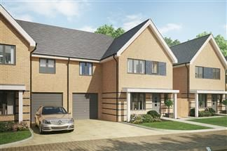 Thumbnail 3 bed semi-detached house for sale in Bellway At Qeii, Howlands, Welwyn Garden City