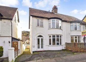 Thumbnail 2 bed semi-detached house for sale in Folkestone Road, Dover, Kent