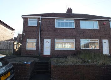 Thumbnail 3 bedroom flat to rent in Howdene Road, Newcastle Upon Tyne