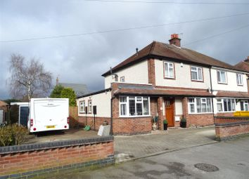 Thumbnail 3 bed semi-detached house for sale in Brockhurst Avenue, Burbage, Leicestershire