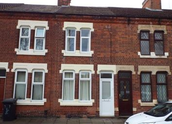 Thumbnail 2 bed terraced house for sale in Hughenden Drive, Aylestone, Leicester, Leicestershire