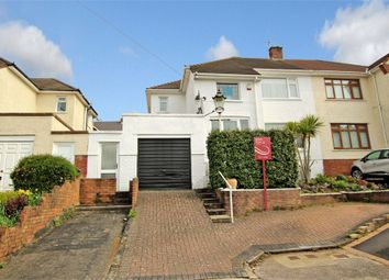 Thumbnail 3 bedroom semi-detached house for sale in Borrowdale Close, Penylan, Cardiff