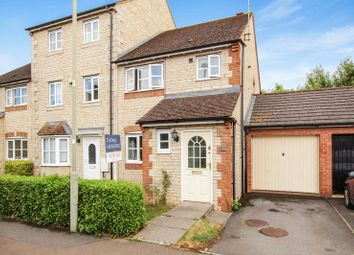 Thumbnail 3 bed end terrace house for sale in Grebe Road, Bicester