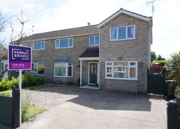 Thumbnail 4 bed semi-detached house for sale in Chatsworth Drive, Louth