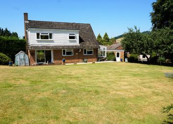 Thumbnail 4 bed detached house for sale in Pine View Close, Chilworth, Guildford