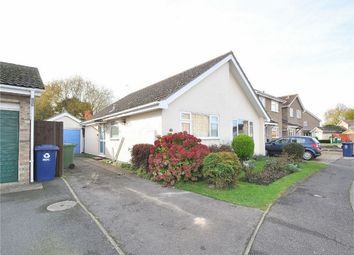 Thumbnail 3 bed detached bungalow for sale in Flint Close, Brampton, Huntingdon, Cambridgeshire