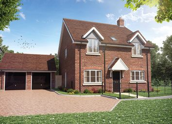Thumbnail 4 bed detached house for sale in Sheldons Reach, Reading Road, Hook