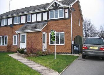 Thumbnail 2 bed semi-detached house to rent in Stratfield Way, Kettering