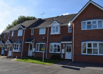 Thumbnail 2 bed town house to rent in Franklin Close, Stapenhill, Burton