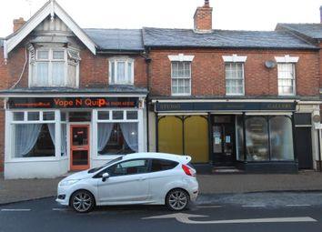 Thumbnail Retail premises for sale in 20 Shropshire Street, Market Drayton, Shropshire