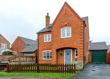 Thumbnail 4 bed detached house for sale in Gillespie Close, Fradley, Lichfield