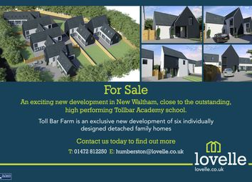 Thumbnail 4 bed detached house for sale in Toll Bar Farm, New Waltham