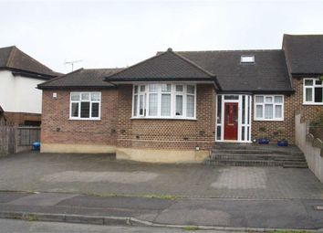 Thumbnail 4 bed semi-detached bungalow for sale in Newlands Road, Woodford, Essex
