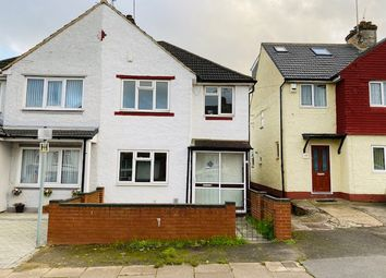 Thumbnail 3 bed end terrace house to rent in Weatherby Road, Luton