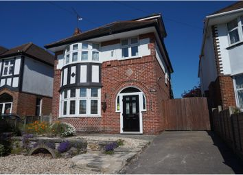 Thumbnail 4 bedroom detached house for sale in Christchurch Road, Bournemouth