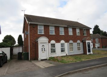 Thumbnail 3 bed property to rent in Abbotts Close, Syston, Leicester