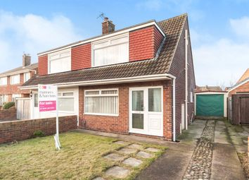 Thumbnail 3 bed semi-detached house for sale in Stokesley Road, Seaton Carew, Hartlepool