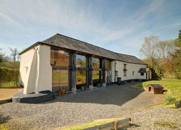 Thumbnail 7 bed barn conversion for sale in Crockernwell, Exeter