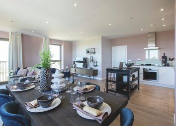 Thumbnail 2 bed flat for sale in 1A Atlantis Avenue, London