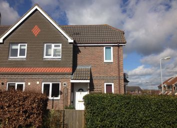 Thumbnail 1 bed semi-detached house for sale in Campion Close, Wyke, Gillingham
