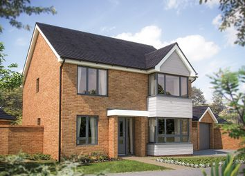 "Thumbnail 4 bed detached house for sale in ""The Canterbury"" at Fields Road, Wootton, Bedford"